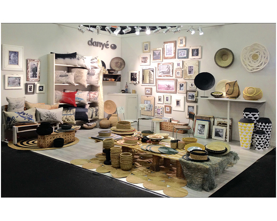 DANYÉ 's stand at Maison&Objet january 2015.  We are again very happy with the good feedback and the results.