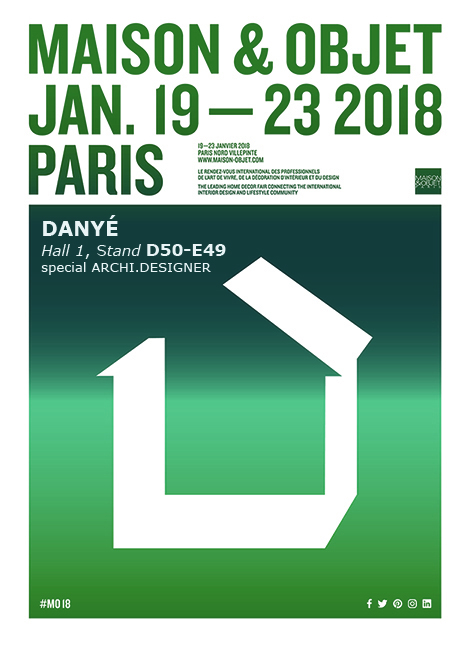 Maison&Objet, Paris.  19-23 January 18